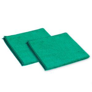 Microvezeldoek groen 10 stuks