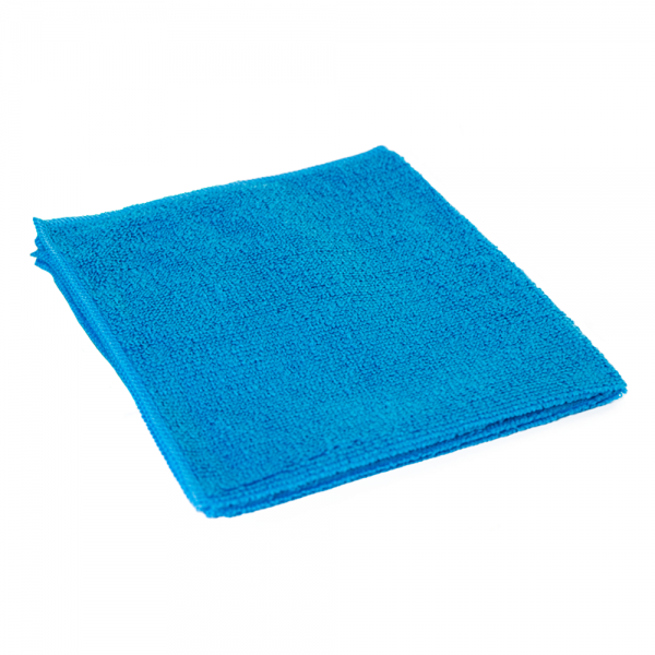 Microvezeldoek blauw