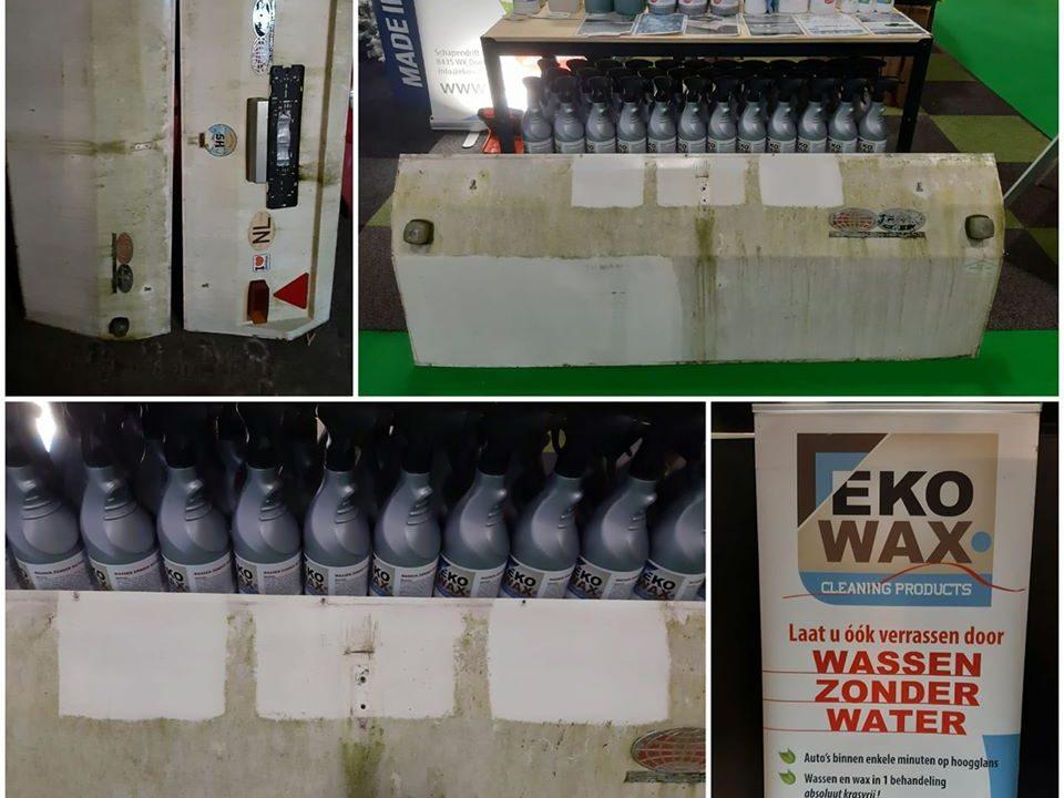 Wassen zonder water