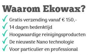 Waarom Ekowax