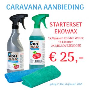 Caravana aanbieding Ekowax